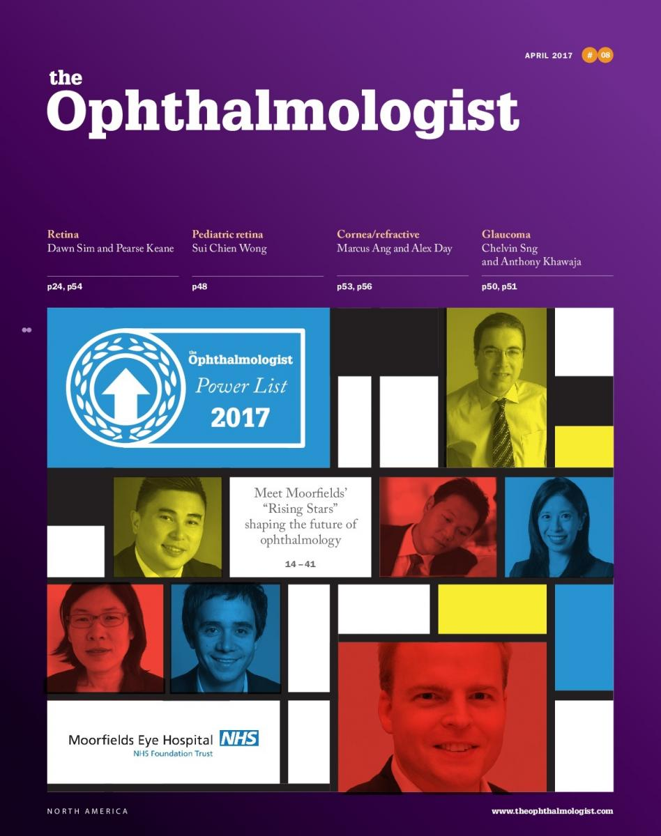Moorfields staff make The Ophthalmologist Power List 2017