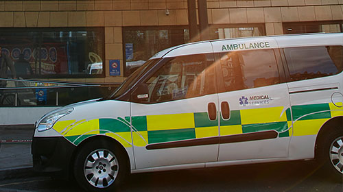 Hospital transport - Moorfields Eye Hospital
